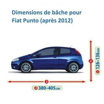 Bâche pour Fiat Punto
