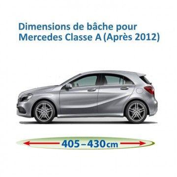 Bâche pour Mercedes Classe A