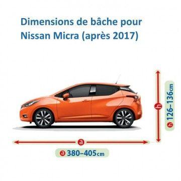 Bâche pour Nissan Micra