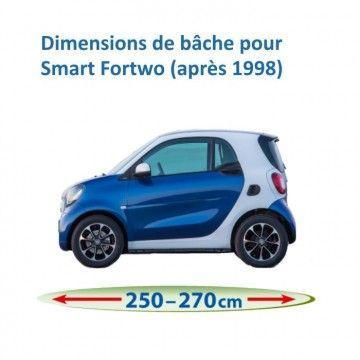 Bâche pour Smart Fortwo