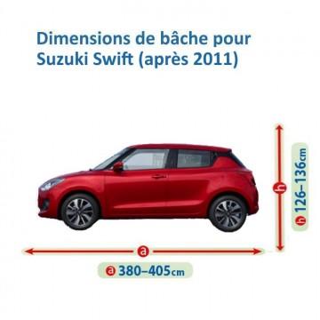 Bâche pour Suzuki Swift