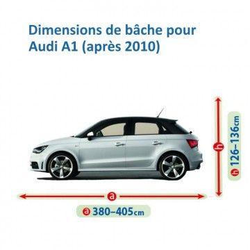 Bâche pour Audi A1