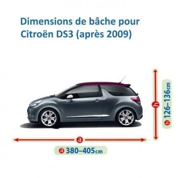 Bâche pour Citroën DS3