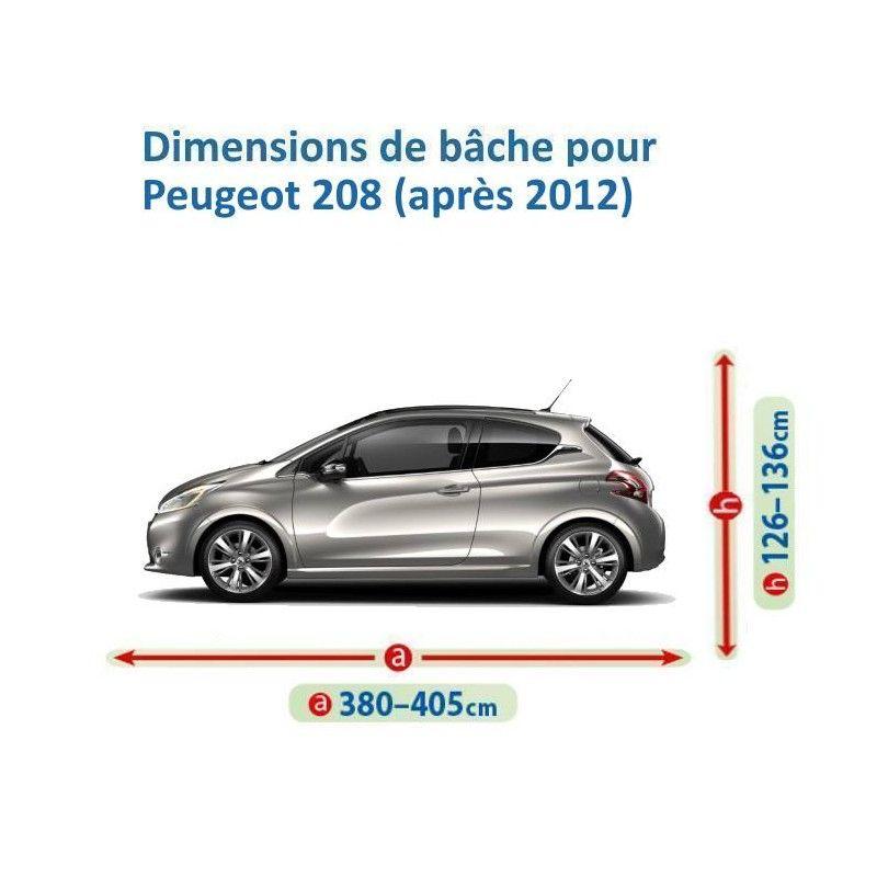 Bâche pour Peugeot 208