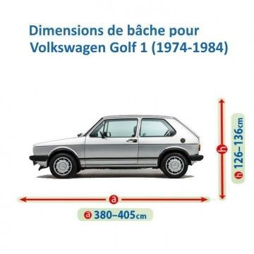 Bâche pour Volkswagen Golf