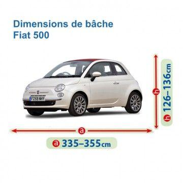Bâche pour Fiat 500