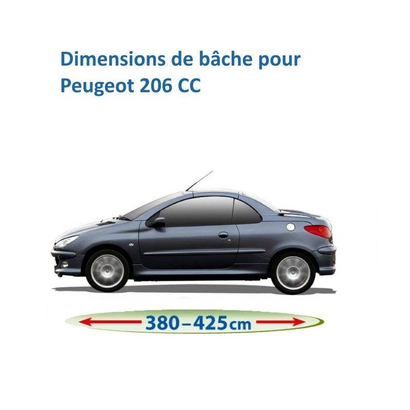 Bâche pour Peugeot 206 CC