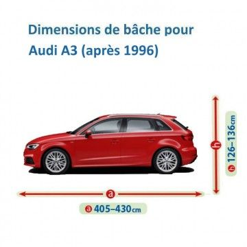 Bâche Audi A3