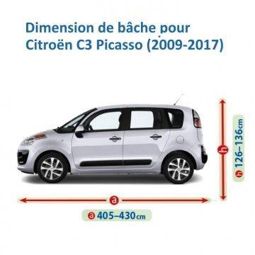 Bâche pour Citroën C3 Picasso