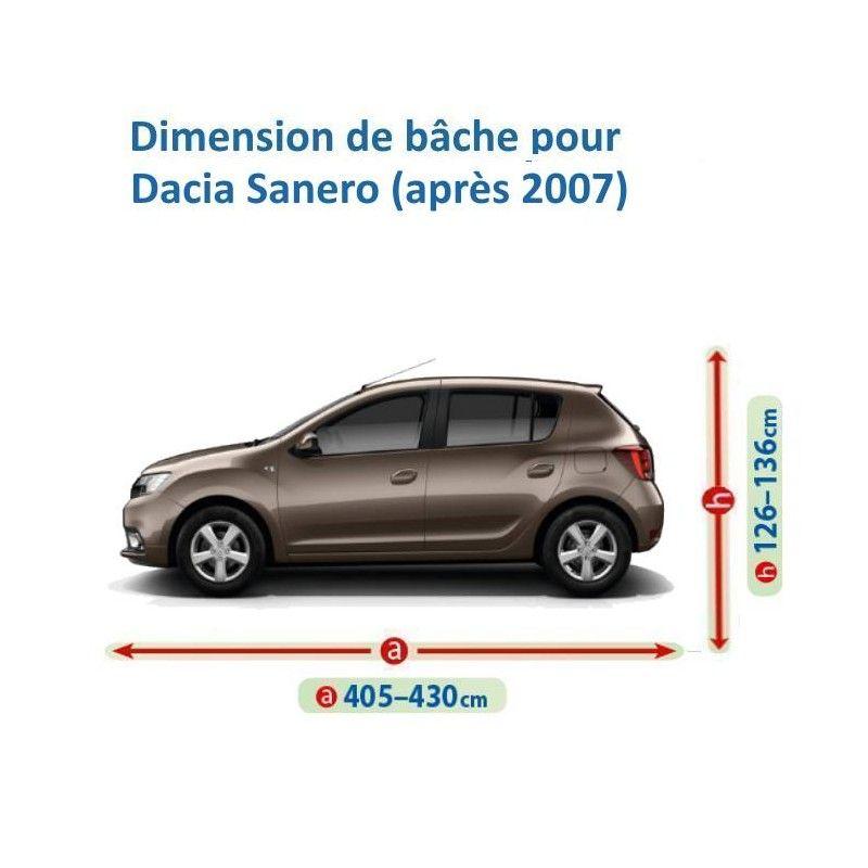Bâche pour Dacia Sandero