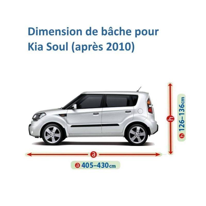 Bâche pour Kia Soul