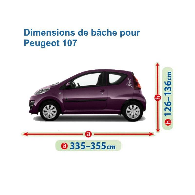 Bâche pour Peugeot 107