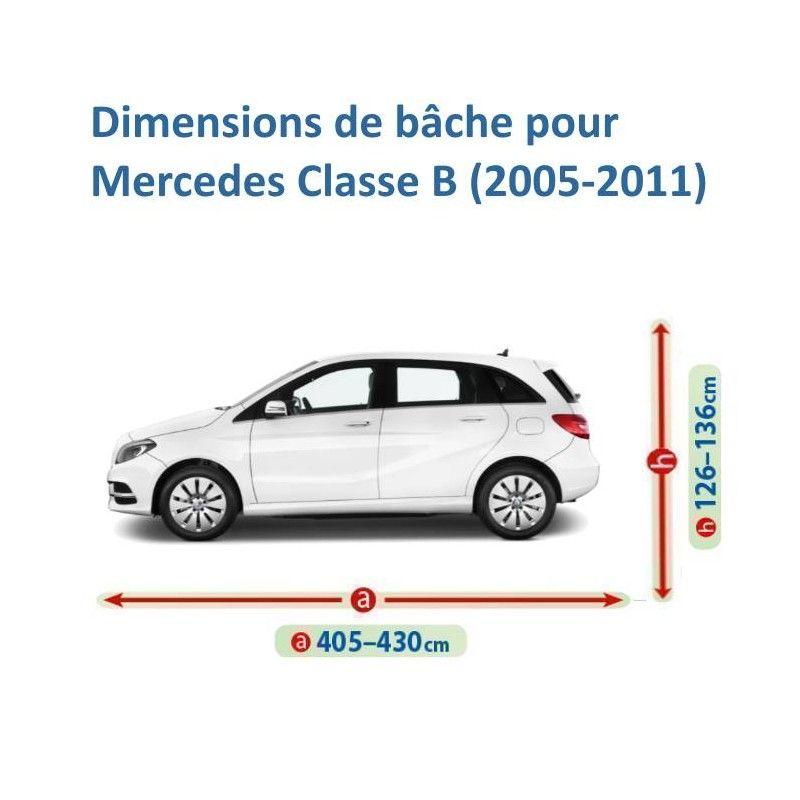Bâche pour Mercedes Classe B