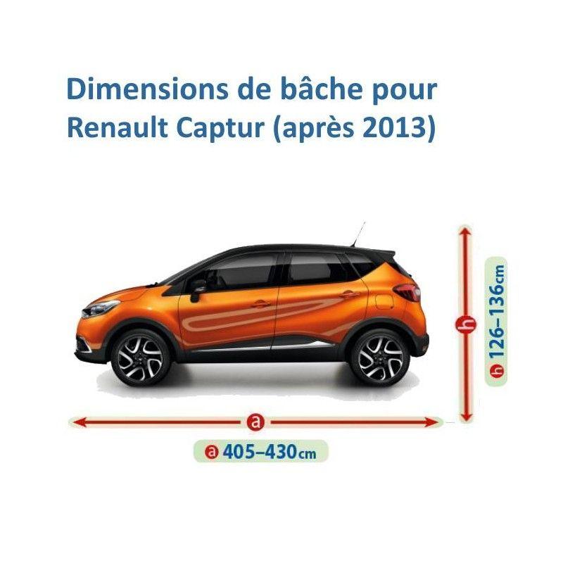 Bâche pour Renault Captur
