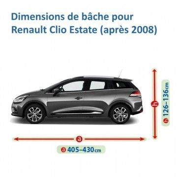 Bâche pour Renault Clio Estate