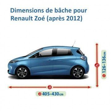Bâche pour Renault Zoé