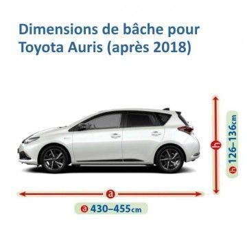 Bâche pour Toyota Auris