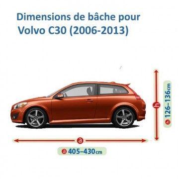 Bâche pour Volvo C30