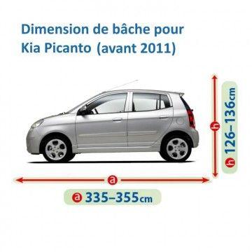 Bâche pour Kia Picanto