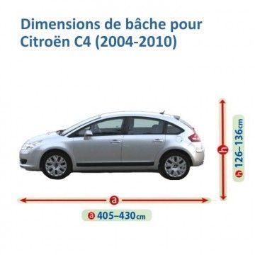 Bâche pour Citroën C4