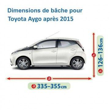 Bâche pour Toyota Aygo