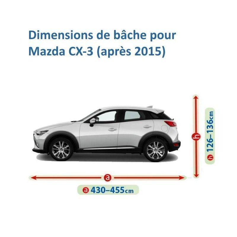 Bâche pour Mazda CX-3
