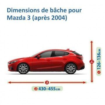 Bâche pour Mazda 3