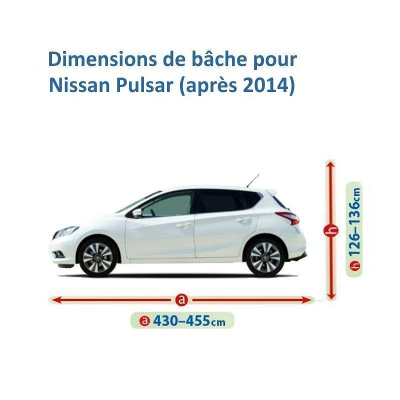 Bâche pour Nissan Pulsar
