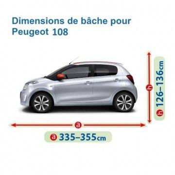 Bâche pour Peugeot 108