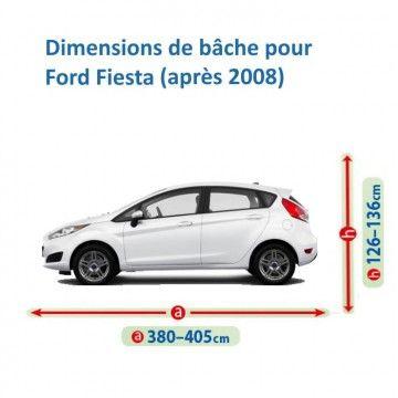 Bâche pour Ford Fiesta