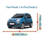 bâche pour fiat panda