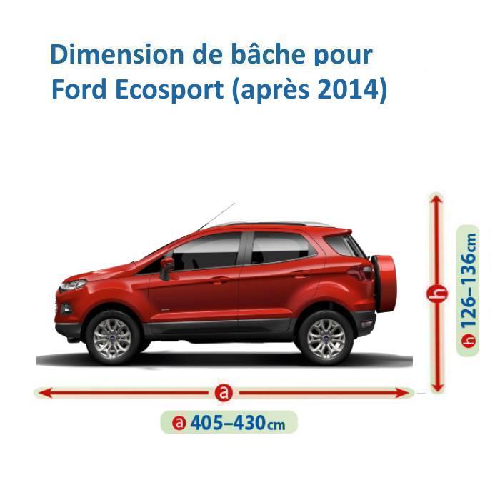 bache pour ford ecosport