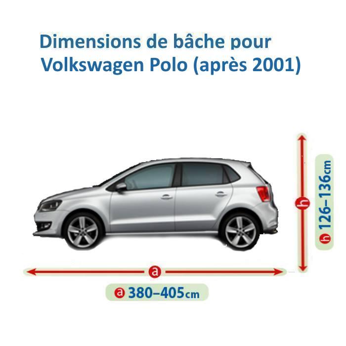 bache pour volkswagen polo