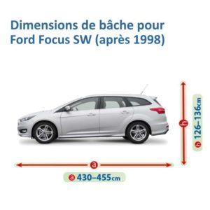 bâche pour ford focus sw